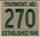 270 numeral patch